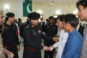 Tribal youth eager to join Pakistani army