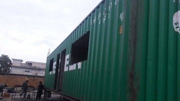 1st smart container school installed in KP Province
