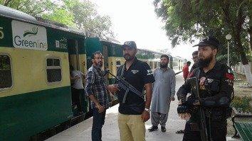 Enhanced security makes Pakistan Railways travel safer