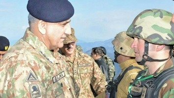 Bajwa praises troops, ulema for efforts securing peace