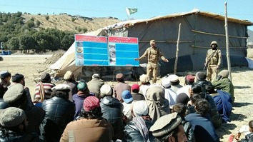 پاکستان سیکورٹی فورسز نے وزیرستان میں آئی ای ڈیز، بارودی سرنگوں کے بارے میں آگاہی بڑھائی
