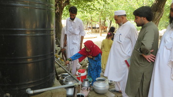 Solar powered wells bring clean water to Bajaur Agency