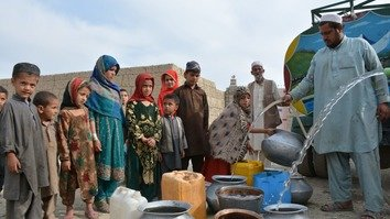 In photos: addressing water shortages in tribal areas