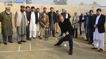 Afghan refugees find inspiration in new Peshawar cricket league