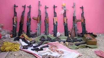 طالبان کا ہتھیاروں کا ذخیرہ افغان جنگ کو وسعت دینے کی ایرانی کوششوں کی طرف اشارہ ہے