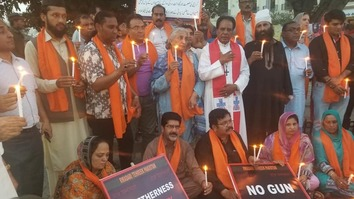 Activists journey 2,000km across country to promote religious tolerance