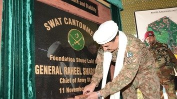 New cantonment aims to be symbol for peace in Swat valley