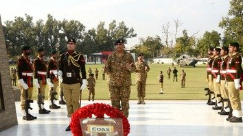 New Pakistani army chief committed to war on terror