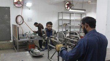 Customised wheelchairs help Pakistanis disabled by terrorism