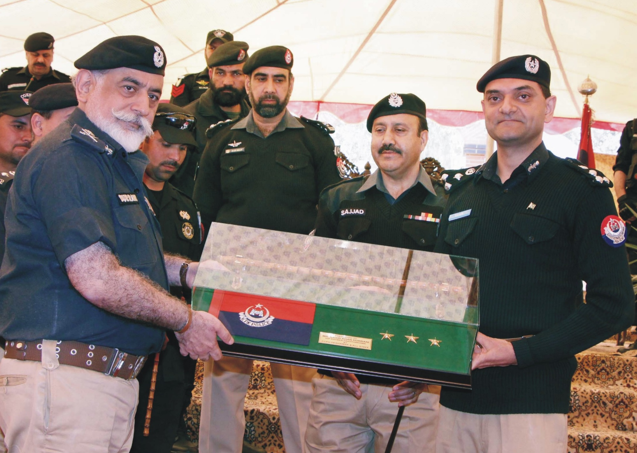 KP police chief Durrani leaves behind legacy of accomplishments