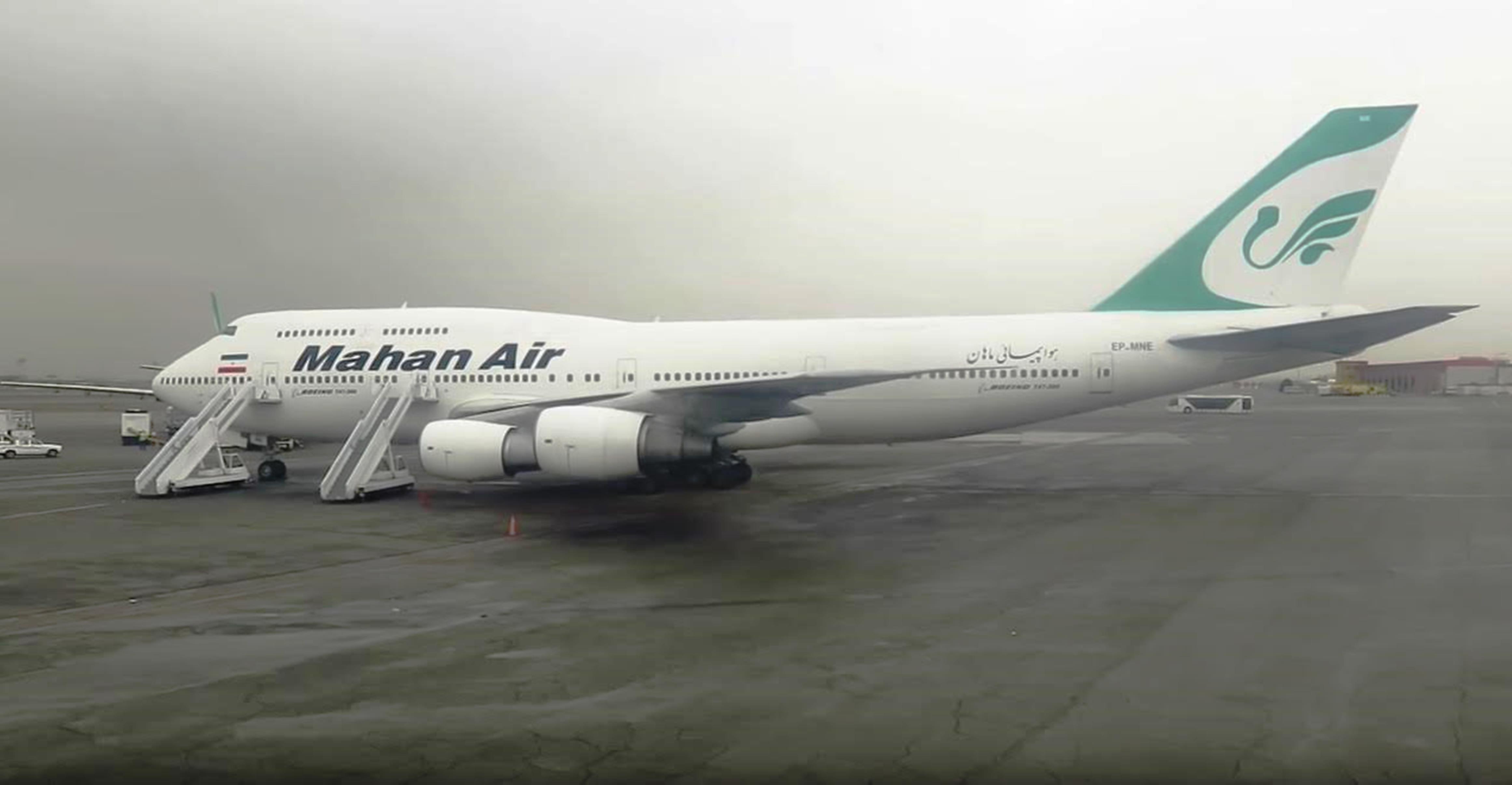 مہان ایئر: ایئر لائن مشرقِ وسطی میں ایران کے حمایت یافتہ تنازعات کی سہولت کار ہے