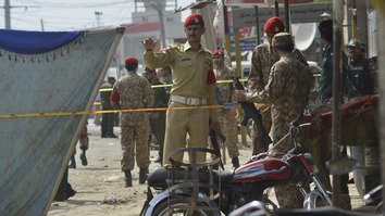 Taliban suicide bomber hits census team in Lahore