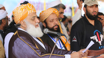 JUI-F centennial gathering denounces terrorism, advocates peace
