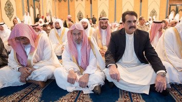 Former Pakistani army chief General Raheel Sharif, who leads the Islamic Military Alliance, recently celebrated Eid in Saudi Arabia. [Pakistan Defense]