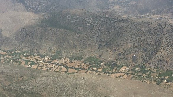 Khyber Agency is shown in this bird's-eye view in April. Pakistani forces have launched Operation Khyber-IV to drive militants out of the remote Rajgal Valley. [Muhammad Ahil]
