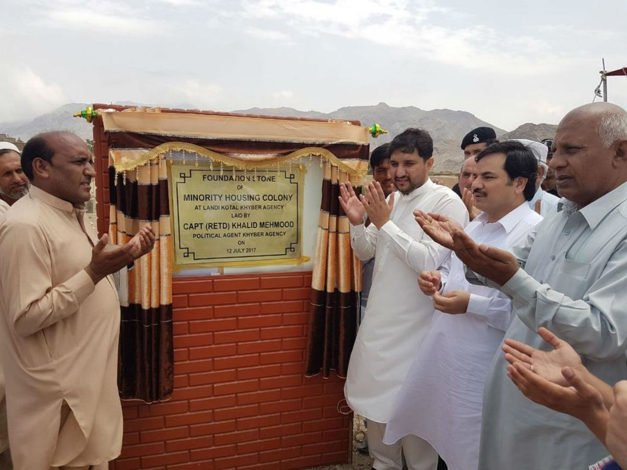New Christian Colony in Landi Kotal a 'beacon of hope'