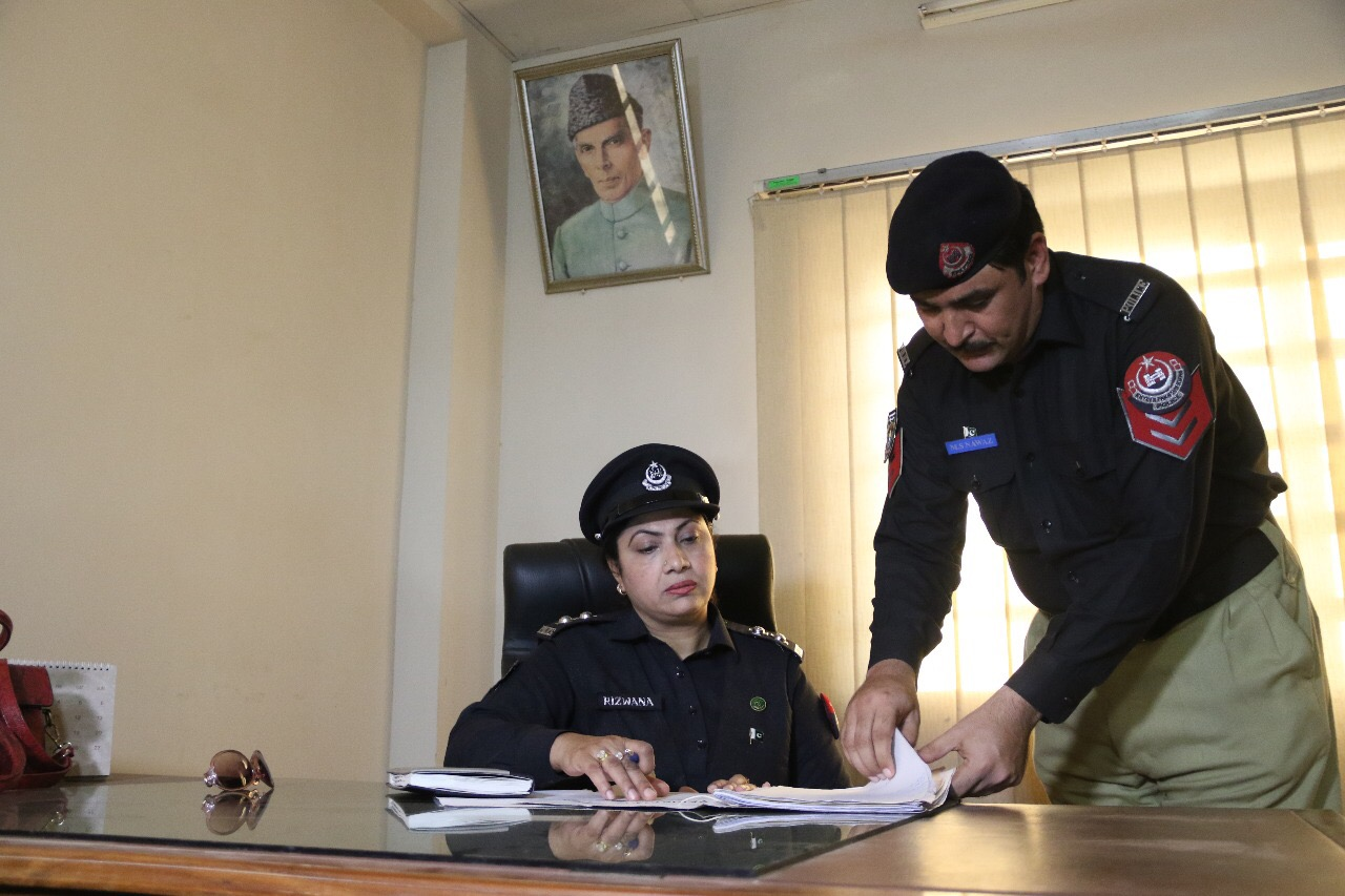 Women play vital role in Khyber Pakhtunkhwa police