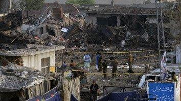 Large blast leaves Lahore residents 'in shock'