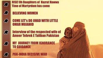 Pakistani Taliban's women's magazine slammed as publicity stunt