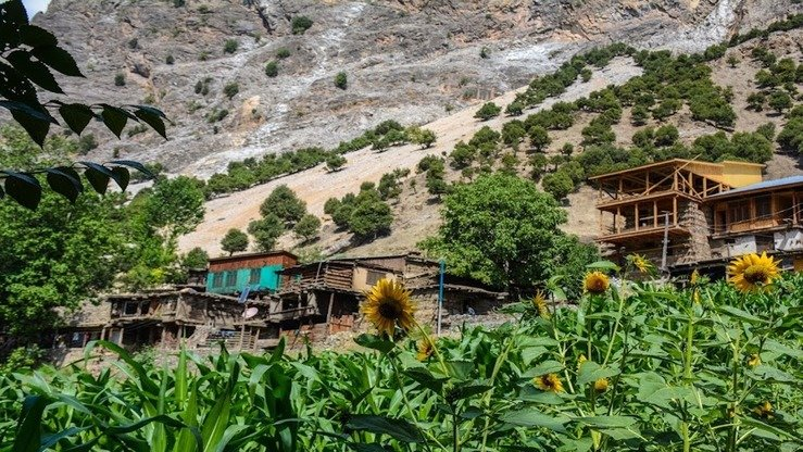 The Kalash Valley in Chitral District, Khyber Pakhtunkhwa, is shown in August. [Alamgir Khan]