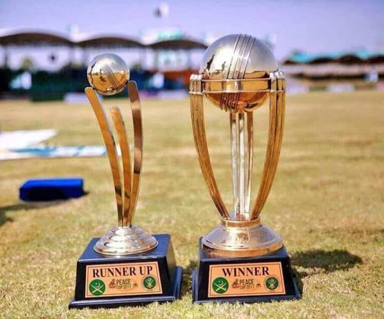 Peace Cup 2017 trophies are shown in Miranshah September 21. [Courtesy of ISPR]