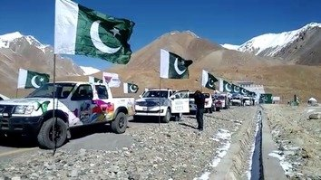 The Pakistan Motor Rally started in Gilgit, capital of Gilgit-Baltistan, October 21 and ended in Gwadar, Balochistan, October 31. [Muhammad Ahil]