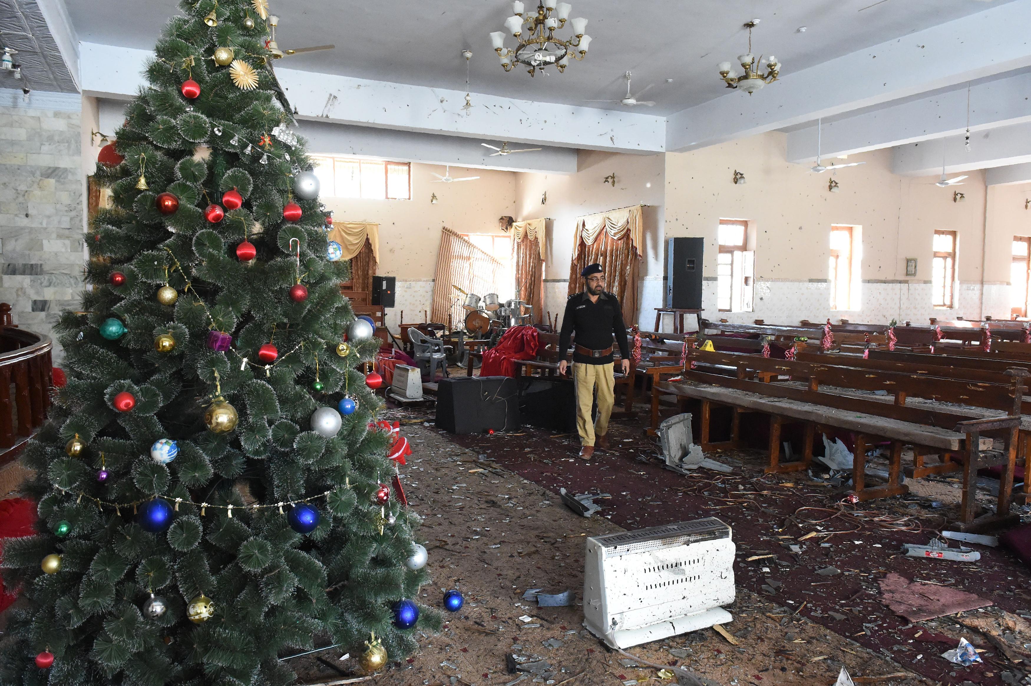 ISIS strikes Quetta church a week before Christmas