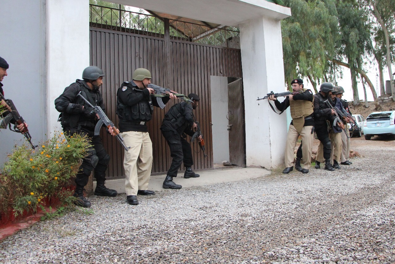 Terrorism in KP reaches record low in 2017