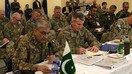 علاقائی سلامتی پر بات چیت کے لئے باجوہ نے کابل میں فوجی سربراہان سے ملاقات کی
