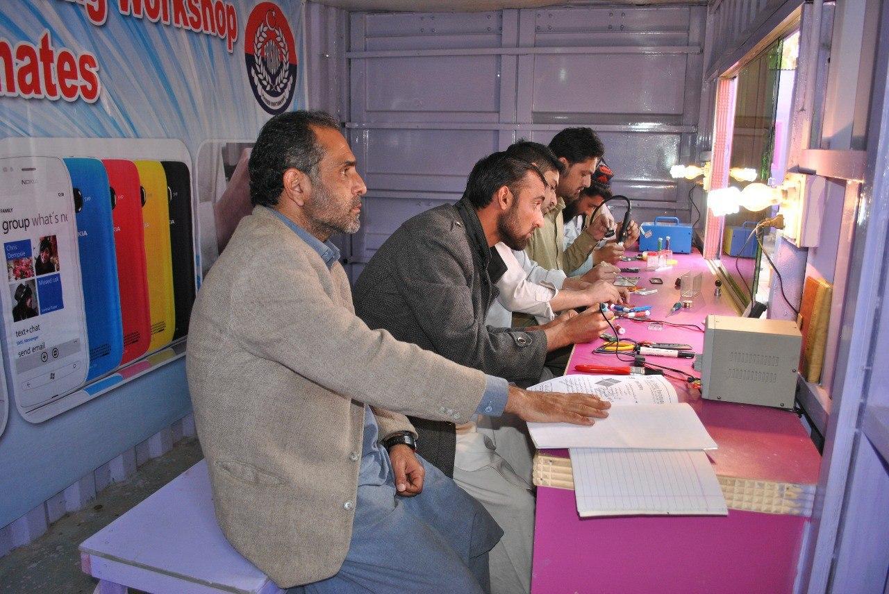 Peshawar inmates learn vocational skills to prevent recidivism