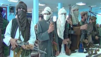 This group of Taliban militants -- trained and funded by Iran -- surrendered to local authorities before carrying out their mission to attack the inauguration ceremony for the Turkmenistan-Afghanistan-Pakistan-India (TAPI) natural gas pipeline that Pakistani Prime Minister Abbasi attended. 'We underwent combat training on the other side of the border within Iranian territory,' one militant said. The Iranian embassy's repeated refusals to comment on the event is 'deafening', observers say. [Sulaiman]