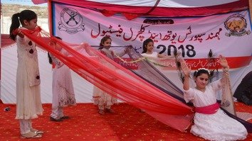 In photos: Girls make history, take centre stage at Mohmand cultural festival