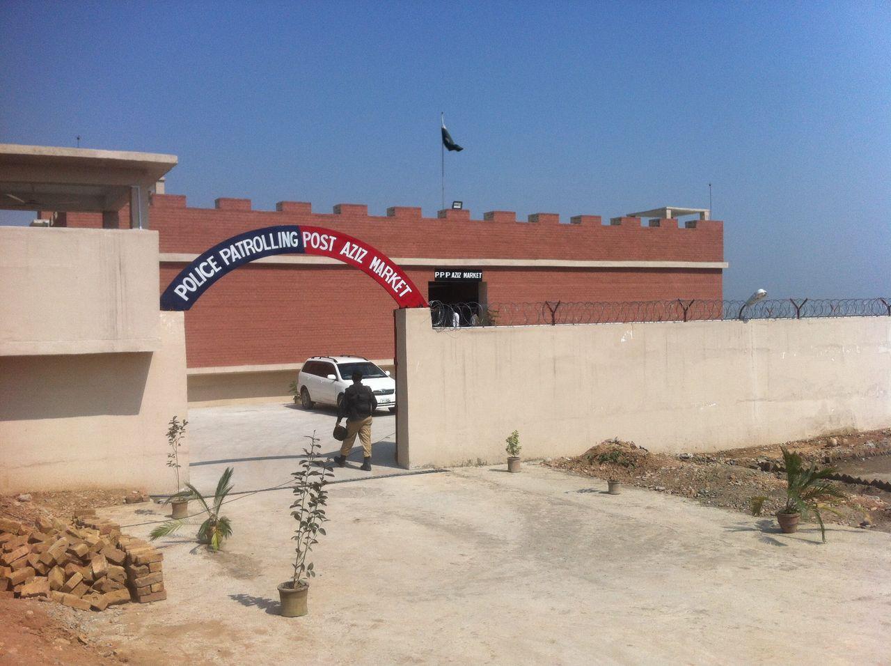 KP inaugurates bomb-proof security checkpoints along FATA perimeter