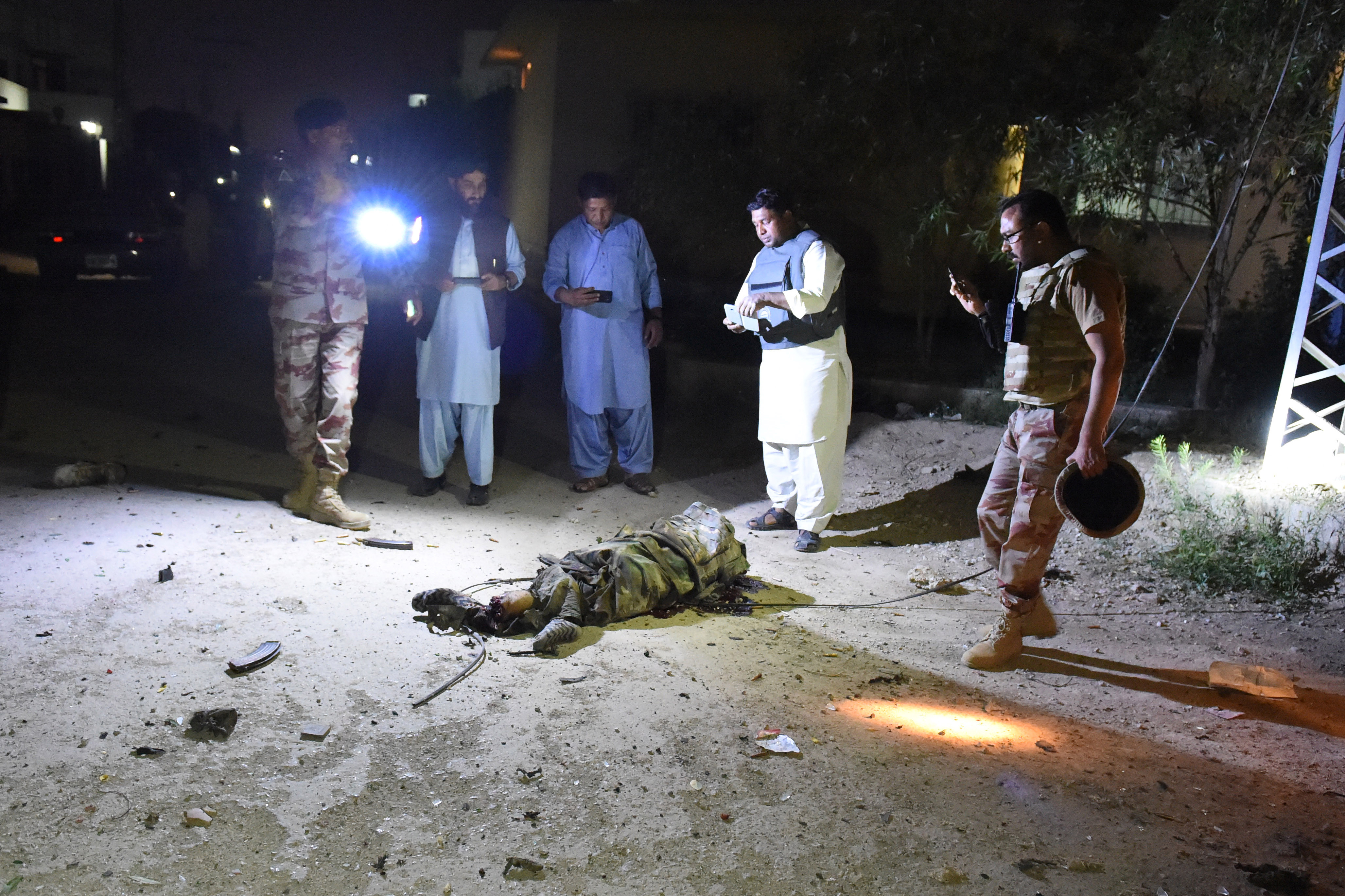 فرنٹیئر کور نے کوئٹہ میں ہیڈکوارٹرز پر بڑا دہشت گرد حملہ ناکام بنا دیا