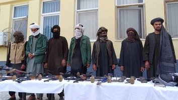 On April 22, a second group of Taliban fighters surrendered to local authorities with similar accusations against Iran. [Herat Police]