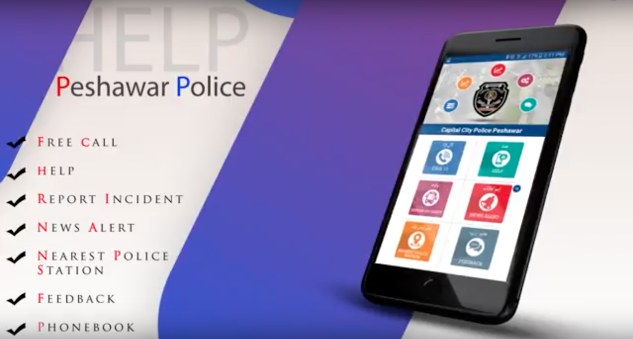 Police mobile app draws praise from Peshawar residents