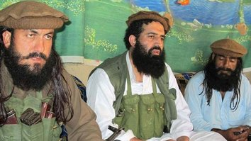 Unidentified Tehreek-e-Taliban Pakistan (TTP) militants are shown in a 2014 photo. The TTP is reeling after it lost yet another commander -- to an air strike in Kunar Province, Afghanistan, June 14. [Junaidrao/Flickr]