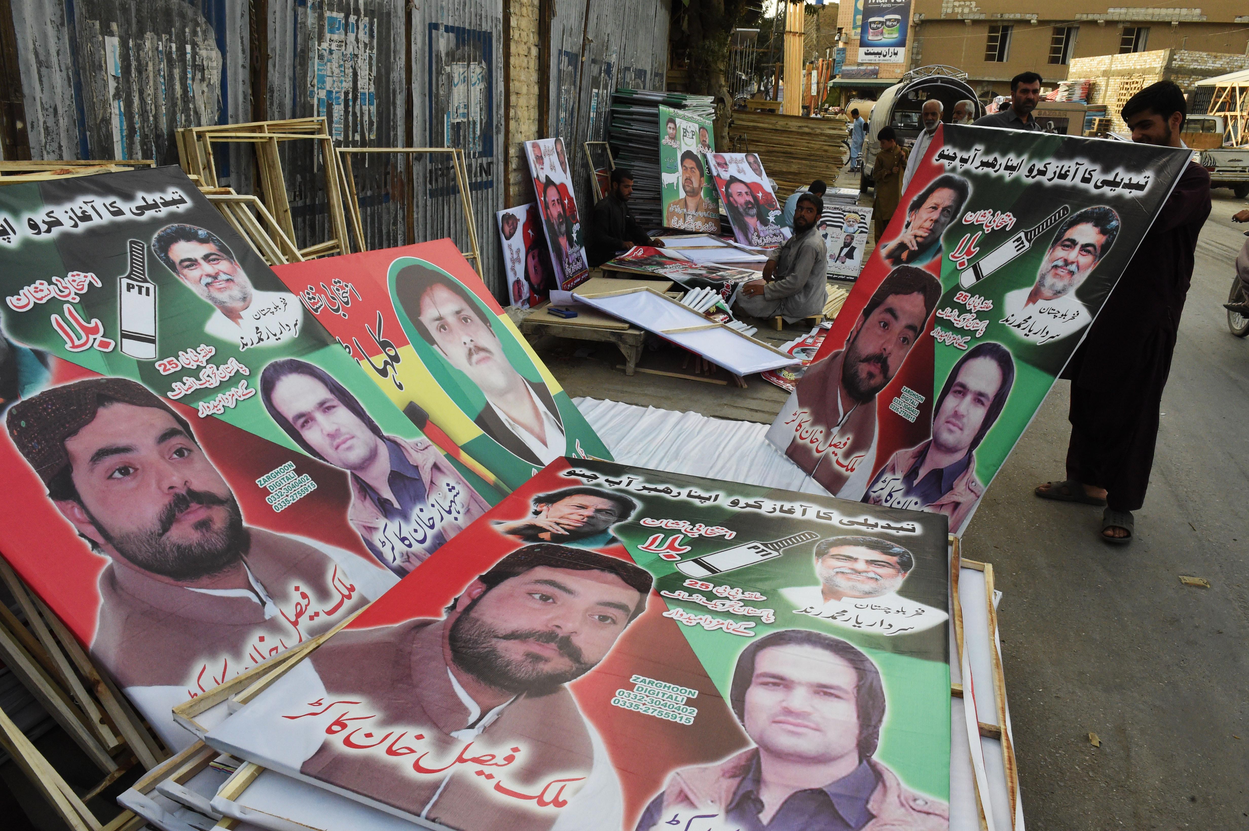 د پاکستان انتخاباتي کمپاینونه د سولې او امنیت سره روان دي