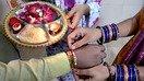 تصاویر میں: پاکستانی ہندو راکھی کے دوران بہن-بھائی کا رشتہ منا رہے ہیں