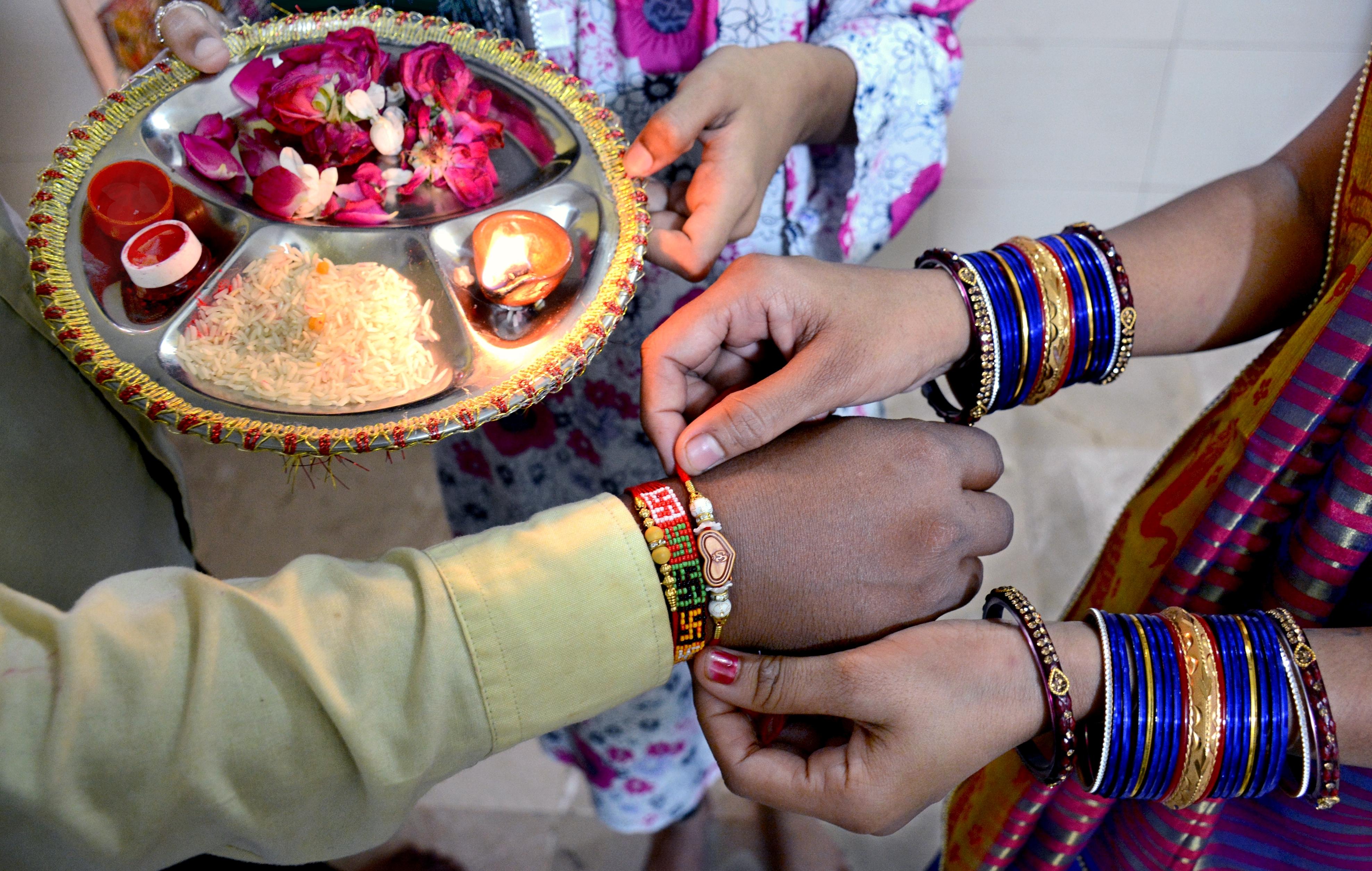 In photos: Pakistani Hindus celebrate sister-brother bonds during Rakhi