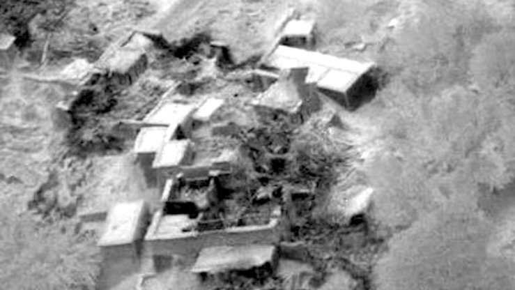 Coalition air strikes destroyed ISIS structures July 10 in Nangarhar Province. [NATO courtesy photo]
