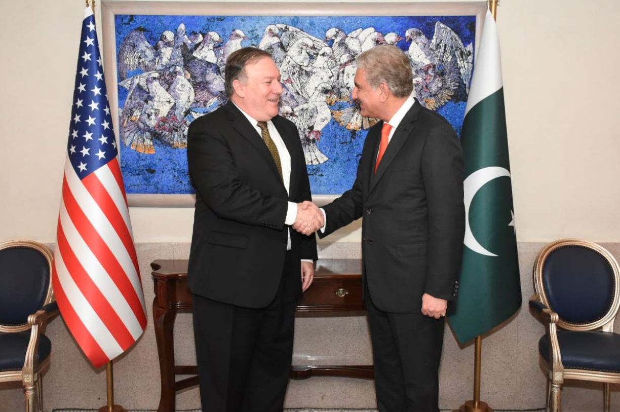 Pompeo in Pakistan to 'reset' relationship with new government