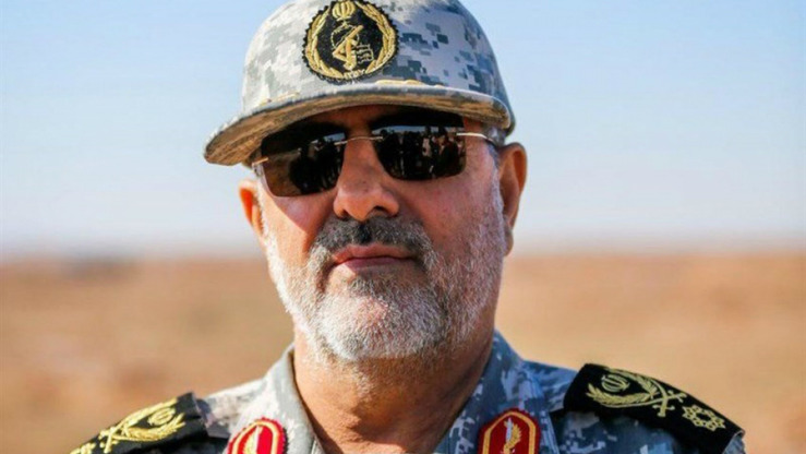 Brig. Gen. Mohammad Pakpour, head of Iran's Islamic Revolutionary Guard Corps, said Pakistan is 'responsible' for the kidnapping of Iranian troops on the border. [File]