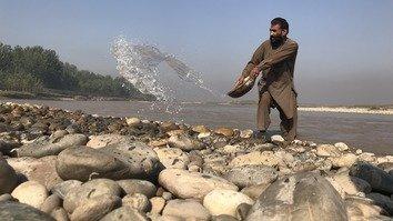 تصاویر میں: سردریاب میں پتھر کا کاروبار پھل پھول رہا ہے