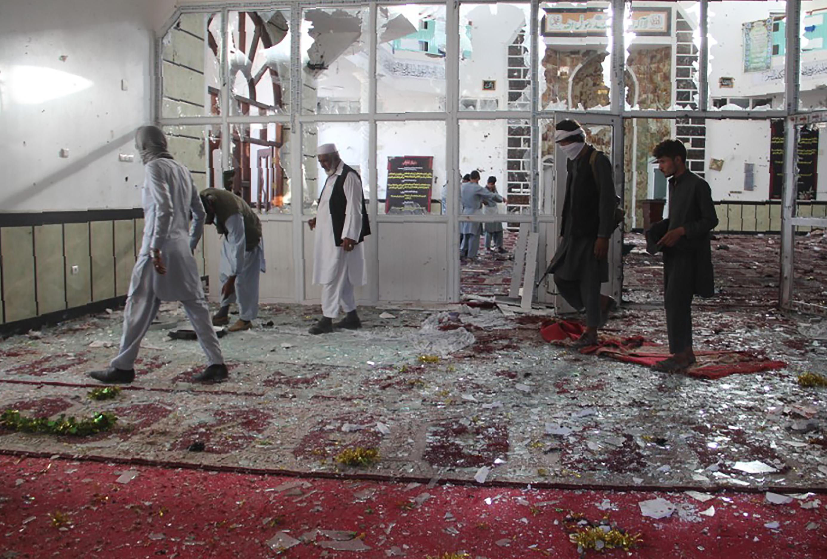 ایران پر مذہبی جنگ شروع کرنے کے لیے افغانستان میں مسجدوں کو شہید کرنے کا الزام