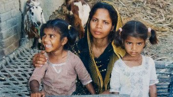 Asia Bibi is pictured with two of her five children in an undated photograph prior to her imprisonment in 2010 on charges of blasphemy. The Supreme Court overturned her death sentence October 31, citing insufficient evidence. [File]