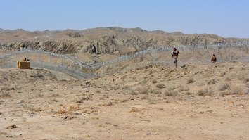 More than a quarter of the Afghan-Pakistan border fence completed
