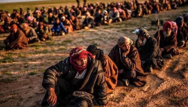 قسمت شام میں زیرِ حراست داعش جنگجوؤں کی منتظر