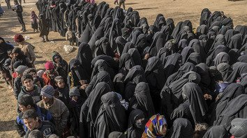 Wives and children of defeated ISIS fighters face future of statelessness