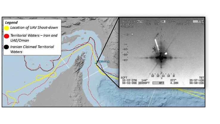 Handmade drawings vs  satellite imagery: US military